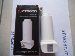 LNB OCTAGON WISPY HQ OLQW Single 0,1 db (3 gradi) liv. 65 db