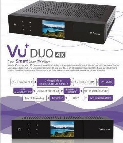 VU+ Duo 4K 1x DVB-S2X FBC Twin Tuner PVR ready - in arrivo a dic