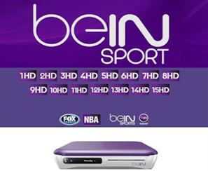 BEIN SPORTS HD - diametro - frequenze - su Eutelsat 7,3 ovest